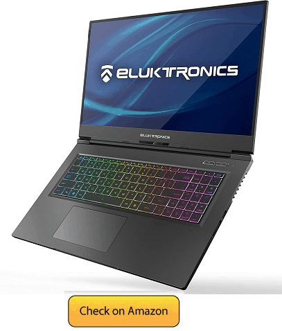 Eluktronics MAX 17 Slim & Ultra Light Notebook PC