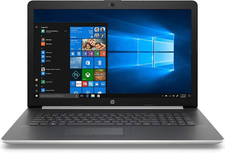 HP's 17 inch Laptop