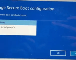 Change Boot Configuration