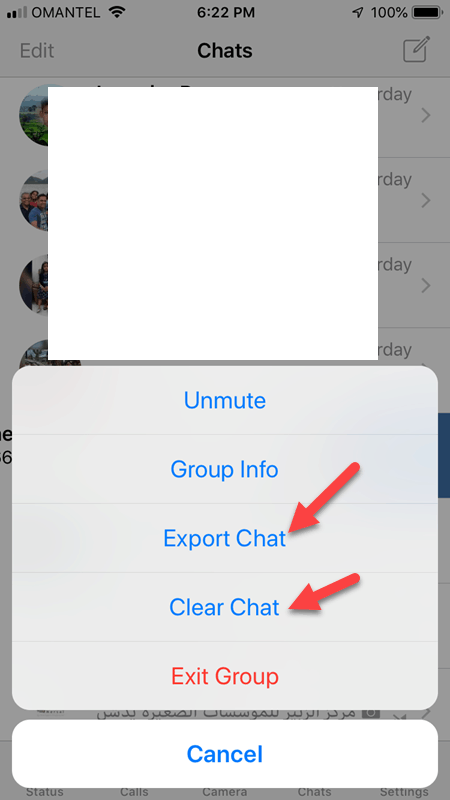 Clear Chat