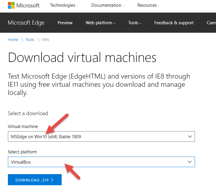 Download Windows 10 VDI