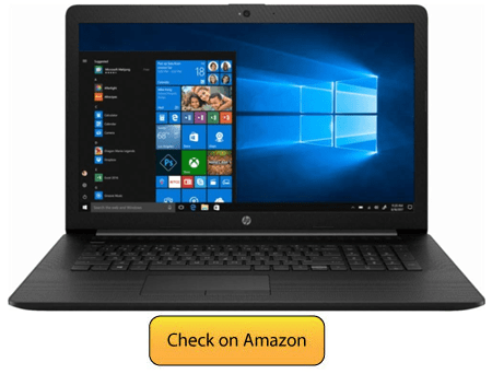 HP Premium 17 Inch Laptop - best laptop for watching movies
