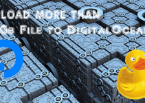 Upload more than 2GB File to DigitalOcean Spaces with GUI Tool