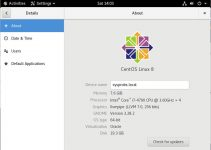Linux CentOS 8.0 Pre Installed VDI Download (Server and Workstation)