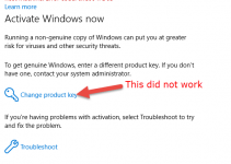 [Solved] Change Product Key Not Working – How to Activate Windows 2016/2019 and Windows 10