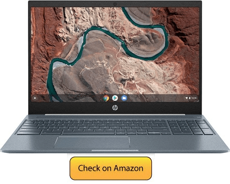 HP Touchscreen Chromebook Laptop