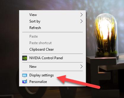 Right Click On Desktop