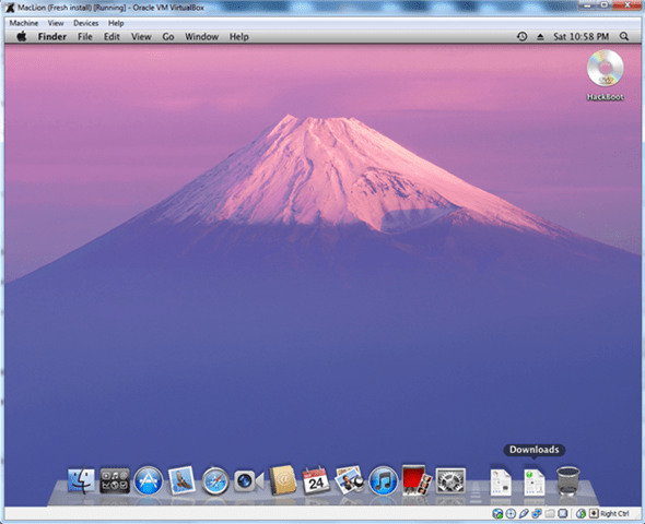 MacOS On VirtualBox