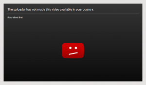 """Solve """"The uploader has not made this video available in your country"""" Error"""