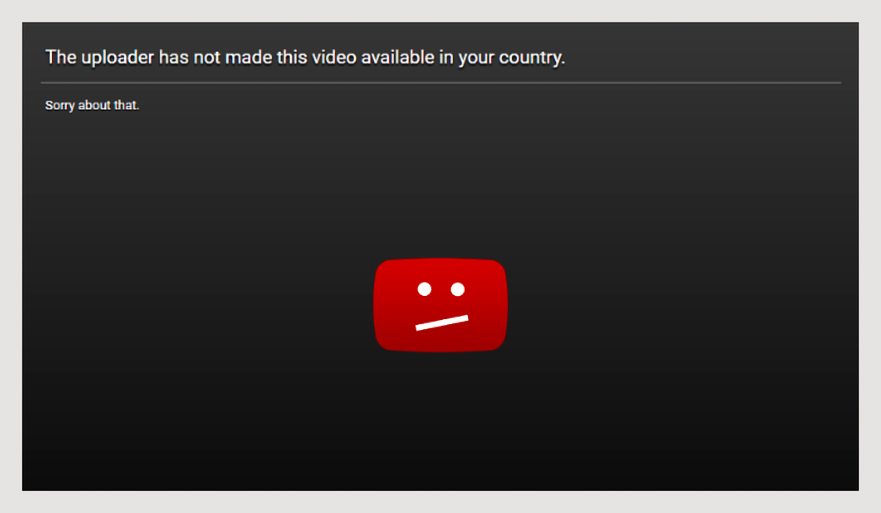 "Solve ""The uploader has not made this video available in your country"" Error"