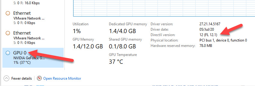 From Task Manager