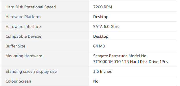 How to Check Hard Drive Cache Size?